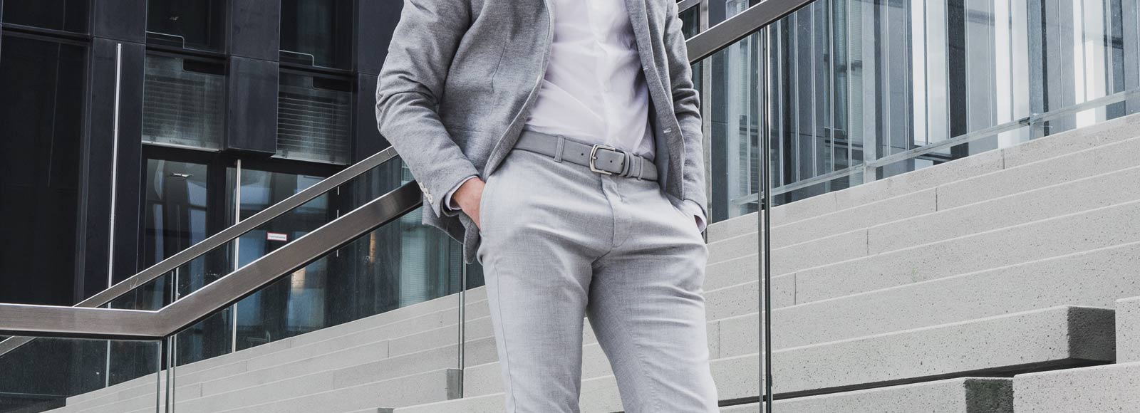 Grau Gürtel Richtig Stylen