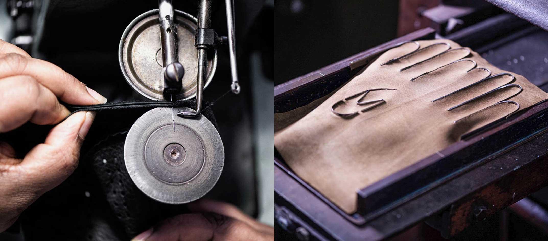 Unsere Handschuh Manufaktur