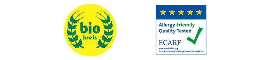 Certified organic seals