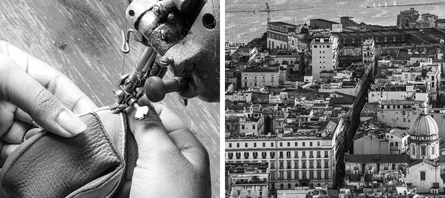 Our gloves are handmade in Naples