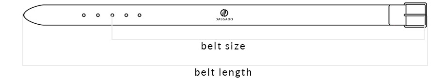 General Sizing Chart Belts