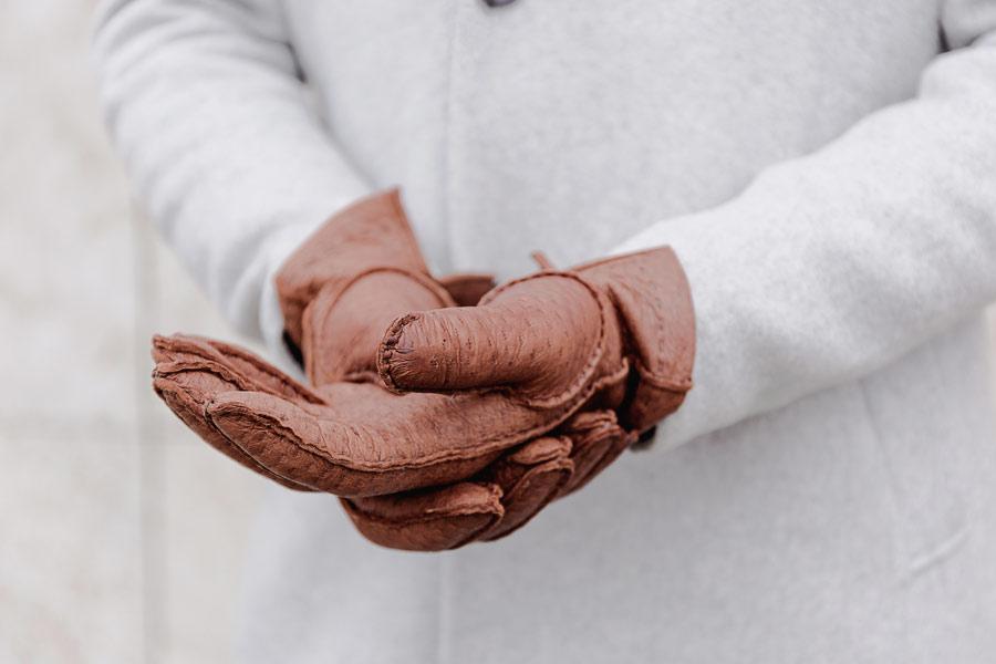 Our handmade Peccary glove Camillo