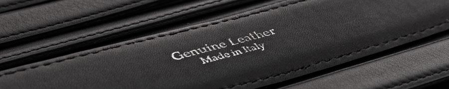 Gürtel mit dem Aufdruck Genuine Leather.