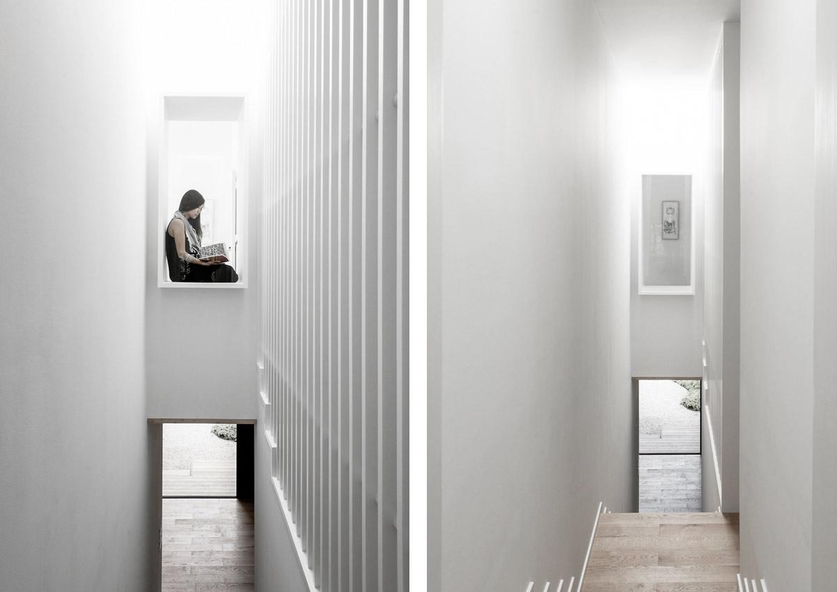 Minimalist Concrete Box House