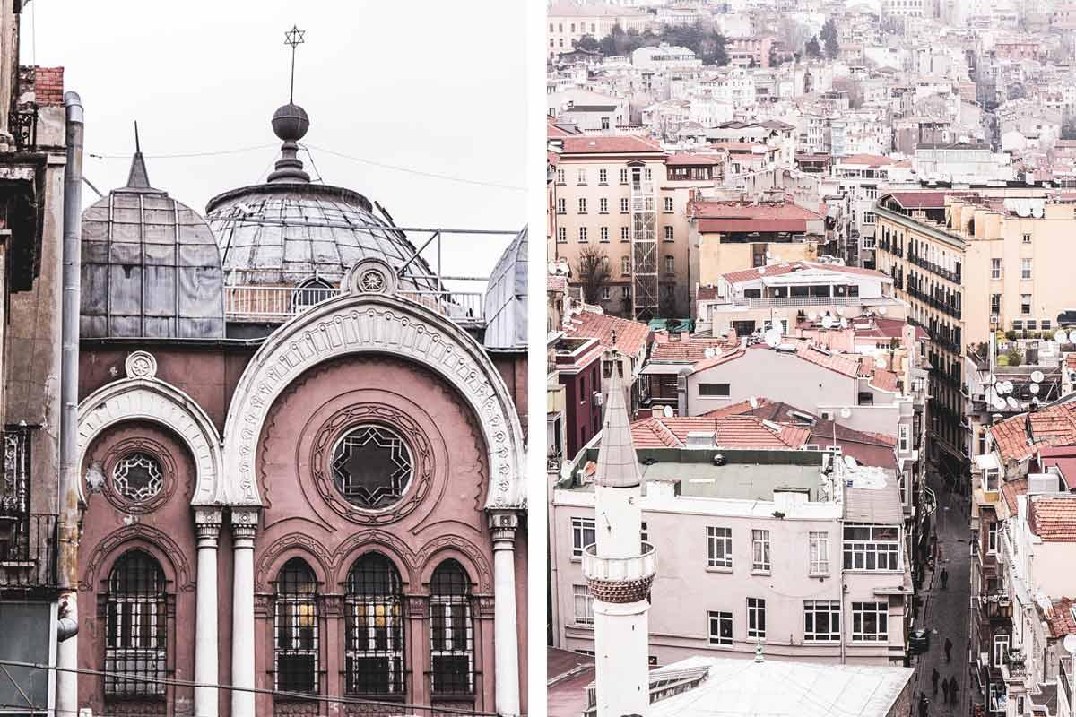 Impressionen aus Istanbuls bekannten Stadtviertel Galata.