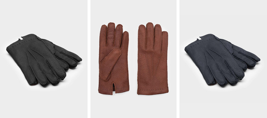 Our Peccary glove collection
