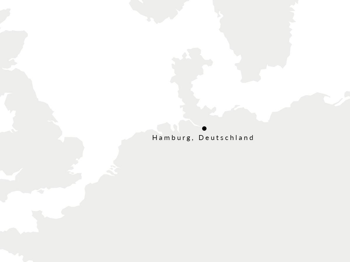 Karte, die den Ort unserer deutschen Gürtelmanufaktur zeigt
