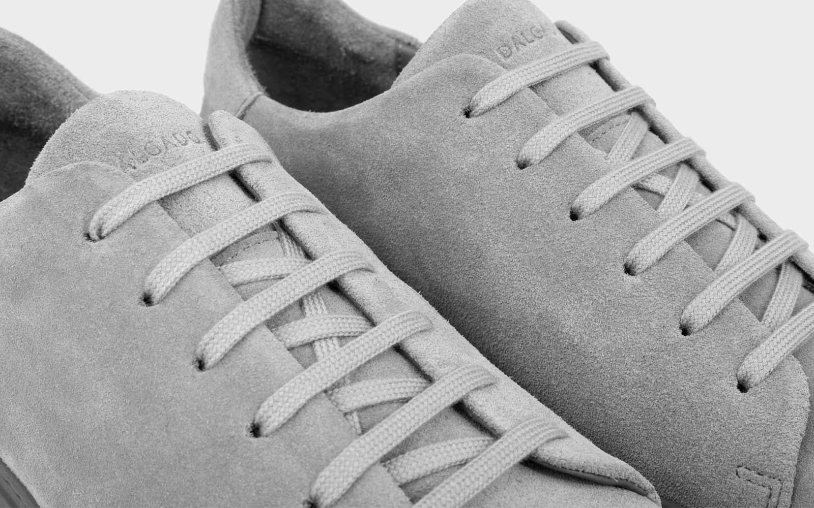 Umberto Veloursleder Sneaker grau