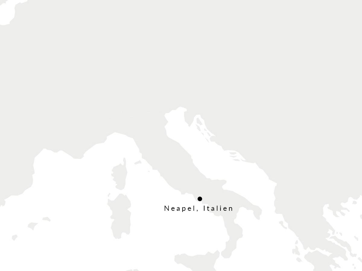 Karte, die den Ort unserer Handschuhmanufaktur zeigt