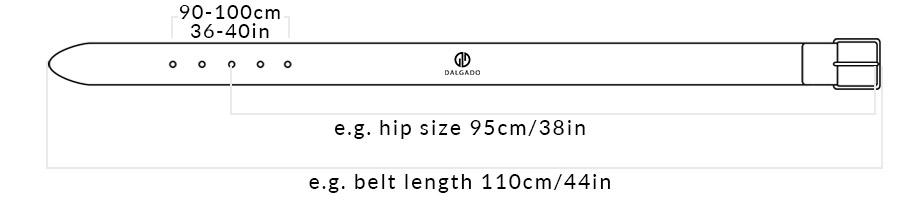 Belt Length Classic Belts