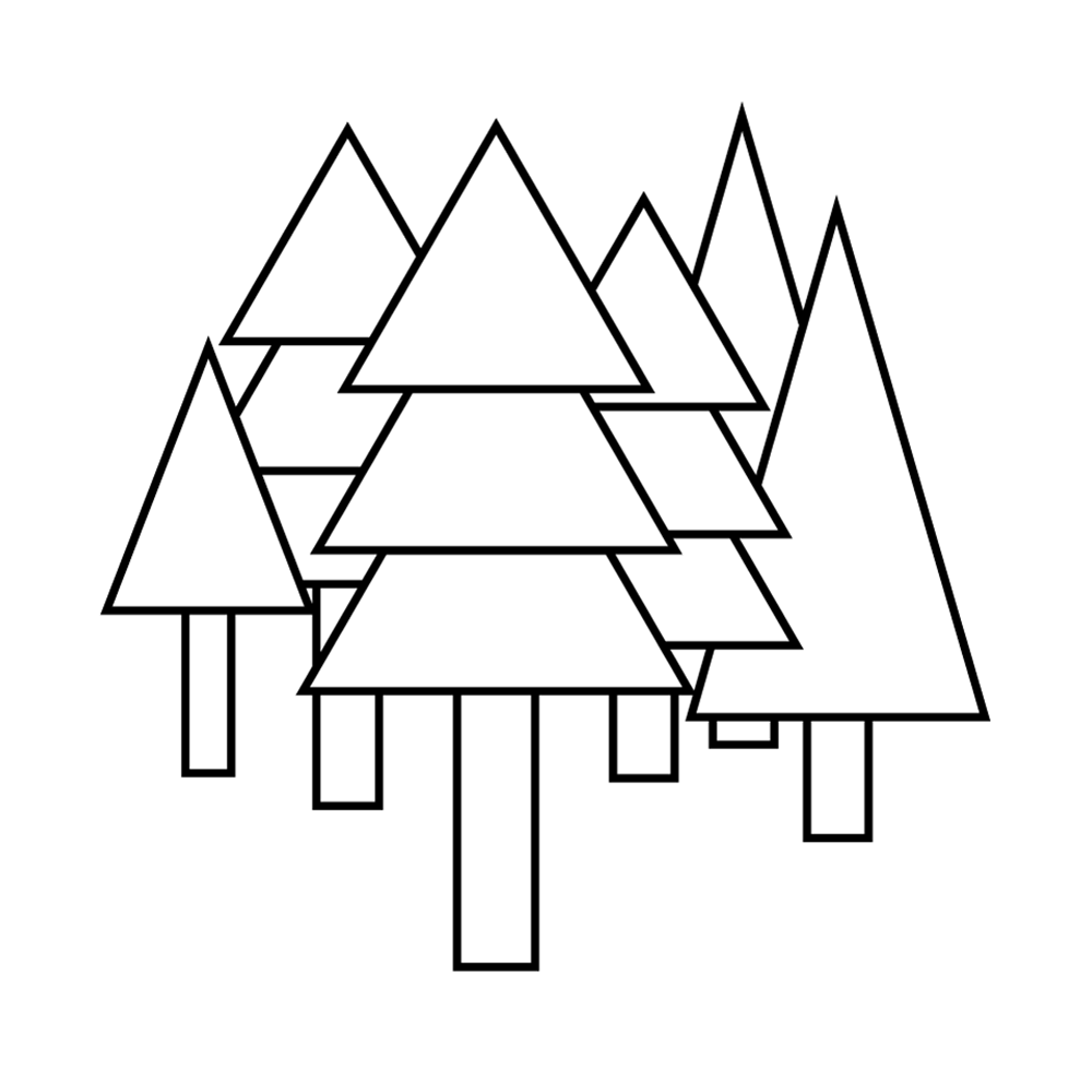 Icon Bäume